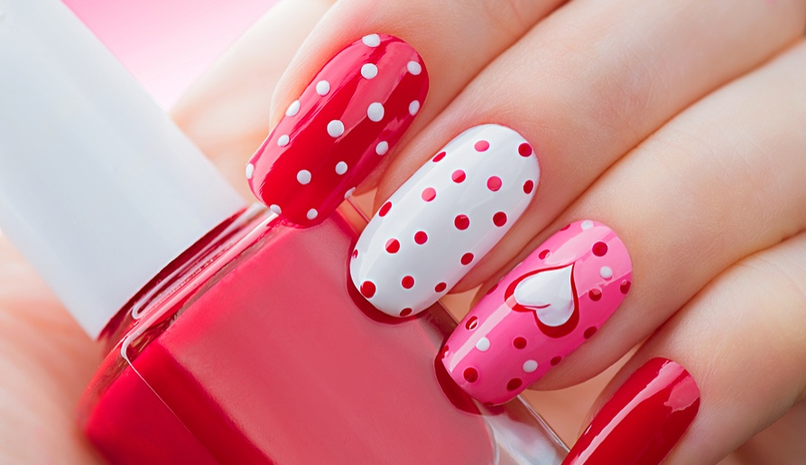 crush worthy nail art inspirations for valentines day 2017 luullas blog - Valentines Nail