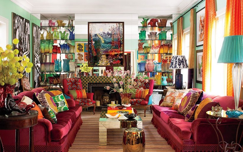 Embrace the maximalist decor style that will reign 2017 Home interior blogs