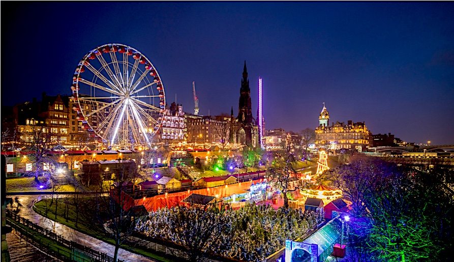 Christmas Vacations: Best Cities to Spend Christmas Edinburgh