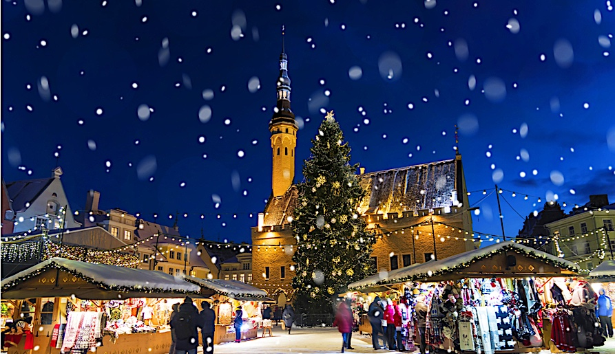 Christmas Vacations: Best Cities to Spend Christmas tallin
