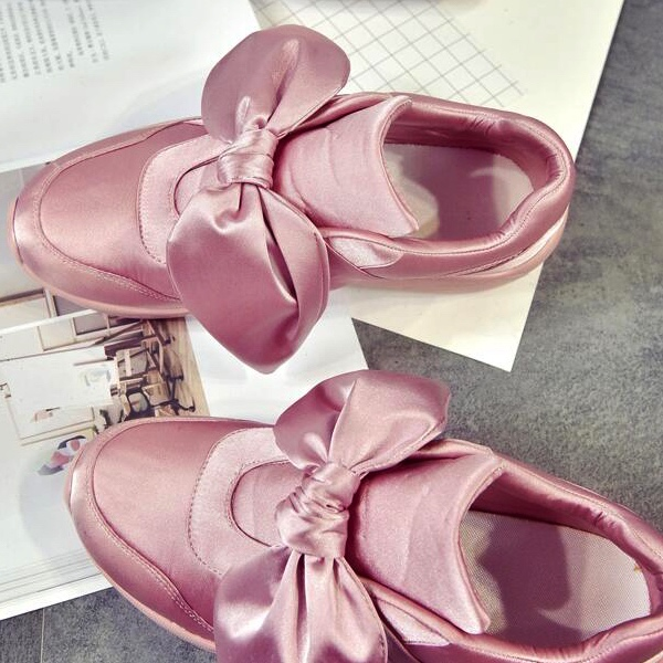 Bow Accent Sneakers