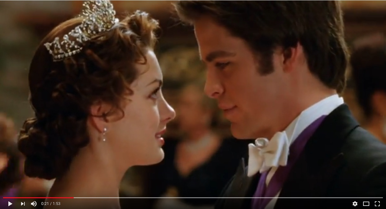 princess diaries engagement